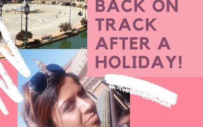 Back on track after a holiday